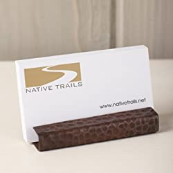 Copper business card holder Copper 7th Anniversary Gifts for Him