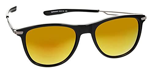 HEAD Gafas de sol deportivas para hombre con protección UV 400 53-18-140 - 12023, Modelo 1,