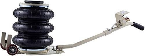 Orion Motor Tech 3 Tonne Pneumatischer Wagenheber Luftheber Wagenheberheber Pneumatischer Luftheber 6600 lbs Kapazität Heben Triple Bag (3T)