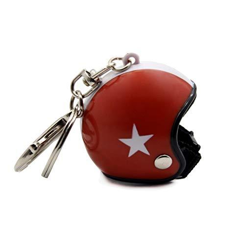 NSEHCC Schlüsselbund Motorradhelm Schlüsselbund Anhänger Schlüsselanhänger Spielzeug Schlüsselanhänger Frauen Schmuckstück