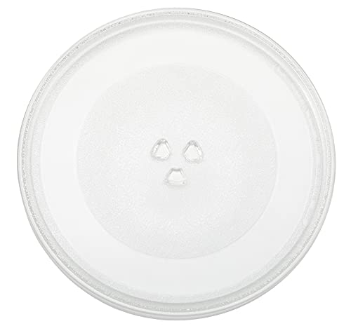 W10337247 12 Inches Microwave Plate Replacement Compatible with Whirlpool Glass Turntable Tray Replaces W11367904 W11291538 AP6872022 PS12711337