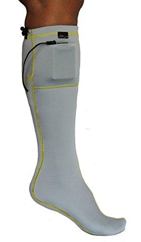 VOLT Heated Socks, Grey, Medium