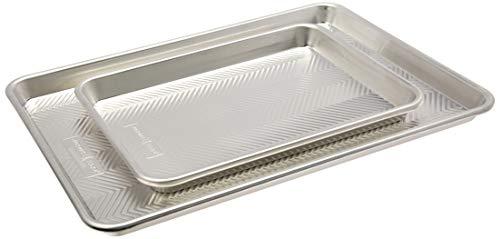 Nordic Ware Prism Baking, Half and Quarter Sheet, Natural