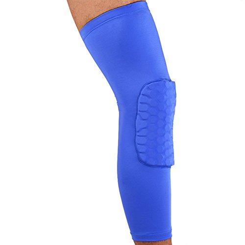 Highdas Palestra Pad Crashproof Pallacanestro Leg ginocchiere ginocchio Protector