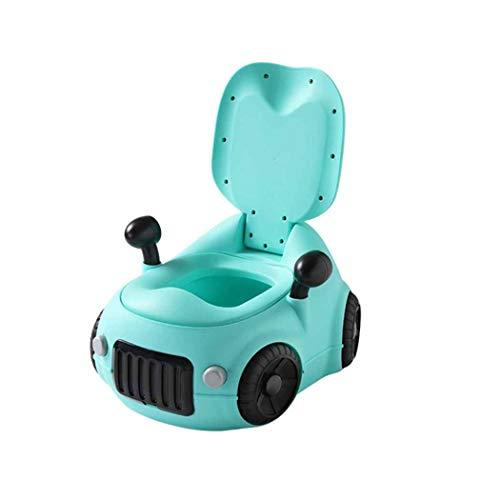 QHYY Mode Kindertoilette Abnehmbare spritzwassergeschützte Bettpfanne Split Formula Car Urinal