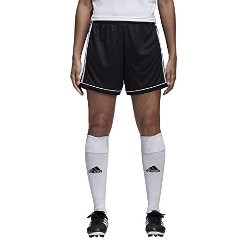 adidas Squadra 17 - Pantaloncini da Donna, Donna, Pantaloncini, S1706GHTM400W, Nero/Bianco, XS