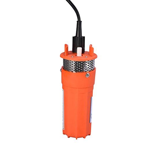 Estink Wasserpumpe 12V, 98ft Tauchpumpe Deep Well Wasserpumpe Alternative Energie Solarbetriebene Pumpe für den Betrieb mit Fernwasser