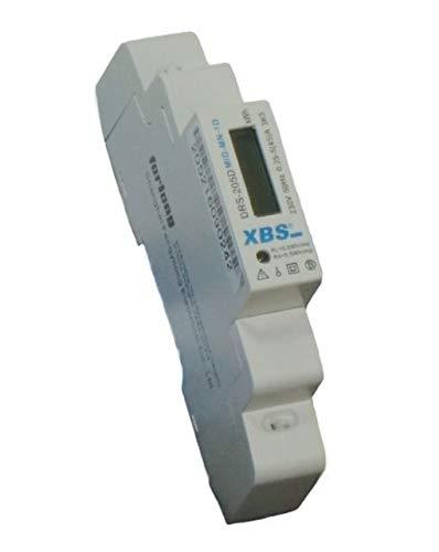MID-MN-1D LCD Wechselstromzähler Stromzähler geeicht 5 (45) A für DIN Hutschiene