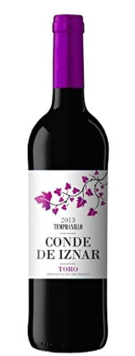 Conde de Iznar Vino Toro Tinto de 13.5º - Paquete de 6 botellas de 75 - Total 450 cl