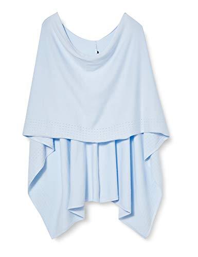 comma Damen 81.003.91.6311 Mode-Schal, 5020 Blue, 1