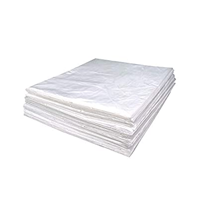 """Wedigout Plastic Sheeting for Body Wrap Used Inside a Far Infrared Sauna Blanket 47""""x82"""" PVC"""