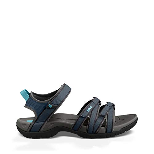Teva W Tirra, Damen Sport- & Outdoor Sandalen, Grün (Teal/Dark Shadow), 36 EU (3 UK)