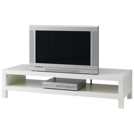Ikea Mobili Soggiorno Tv.Ikea Lack Mobile Porta Tv Dimensioni 149 X 55 Cm Colore Bianco Amazon It Casa E Cucina