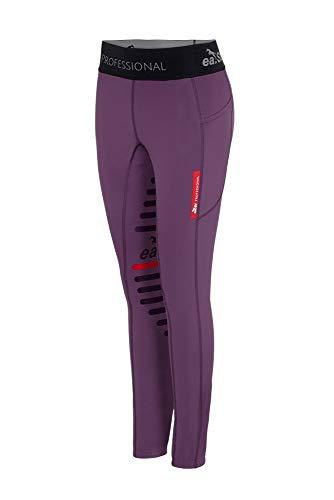 ea.St Riding Leggings - Winter Edition - Plum Purple, Größe:M
