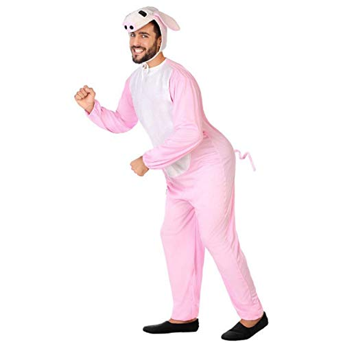 ATOSA disfraz cerdo hombre adulto M