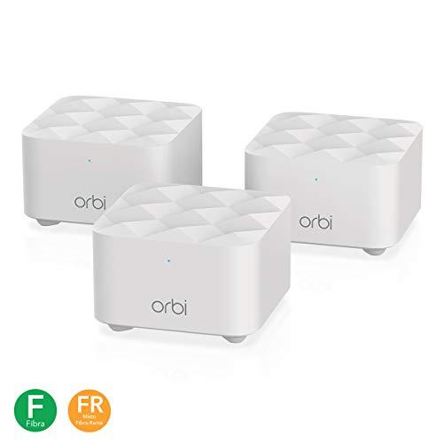 Netgear Orbi RBK13 Sistema Wi-Fi Mesh per lo Smart Working,...
