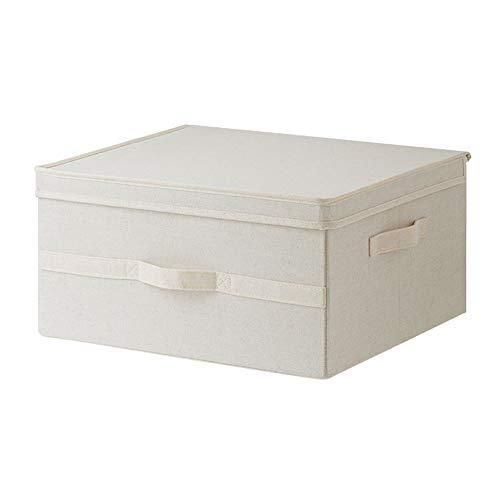 Kcakek Opbergdoos met deksel Stof Opvouwbare Box Slaapkamer Clothes Organizer Wardrobe Storage Box Opvouwbaar Storage Cubes Linen Storage Basket Children's Toy Storage Box