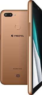 【公式販売】FREETEL P6 ゴールド クラウドSIM搭載 格安スマホ 100ヶ国以上カバーできる海外Wi-Fi内蔵スマートフォン 指紋認証 3400mAh大容量バッテリー Dualカメラ DSDV 光センサー microSD(最大2GB) microSDHC(最大32GB) microSDXC(最大128GB)