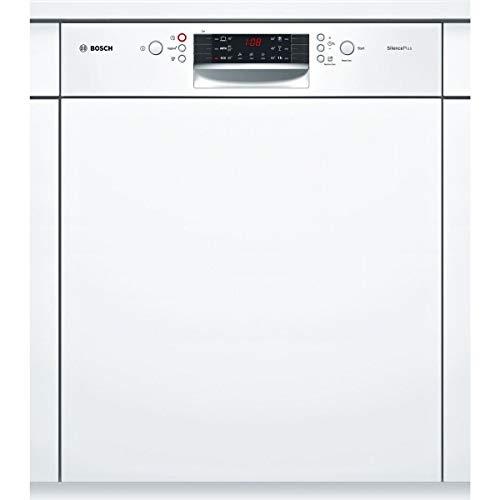 Bosch Serie 4 SMI46AW01E lavavajilla Semi-incorporado 12 cubiertos A+ - Lavavajillas (Semi-incorporado, Tamaño completo (60 cm), Blanco, Botones, 1,75 m, 1,65 m)