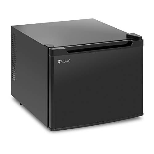Royal Catering Minibar Mini-Kühlschrank Getränkekühlschrank RCGK-35L (35 l, 70 W, 5-12 °C, Einschübe: 28 x 37,5 cm, 35 dB) Schwarz