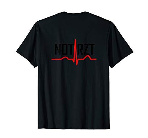 NOTARZT ÄRZTE SINUSRHYTHMUS RETTUNGSDIENST BEKLEIDUNG T-Shirt