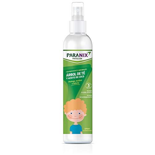 Paranix | Proteccion Árbol de Te Nino | Con Ingredientes Naturales | Arbol de Te y Aceite de Coco | Protege, moldea y hidrata | 250 ml