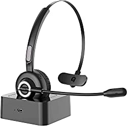Image of Bluetooth Headset with...: Bestviewsreviews