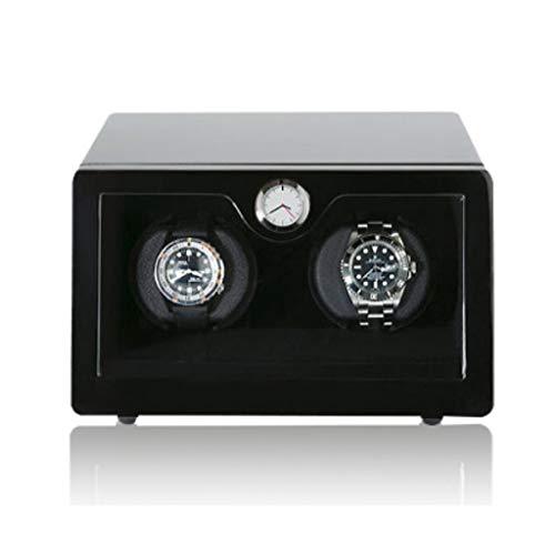 YOIL Caja de Almacenamiento Reloj Winder mecánico mecánico Caja de bobinado automático Reloj de Mesa Giratorio Marco Motor Remoto Reloj -