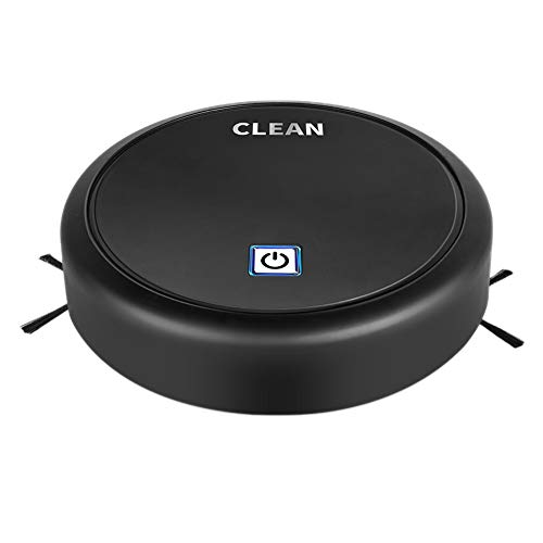 Hankyky Sweeping Robot Intelligent Home Automatic Scrub Floor Mopping Multi-Function Floor Cleaning Machines Vacuum Best for Pet Hairs, Hard Floor & Medium Carpet