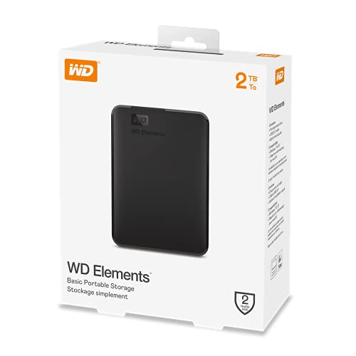 WD Elements Portable, externe Festplatte – 2 TB – USB 3.0 – WDBU6Y0020BBK-WESN - 10