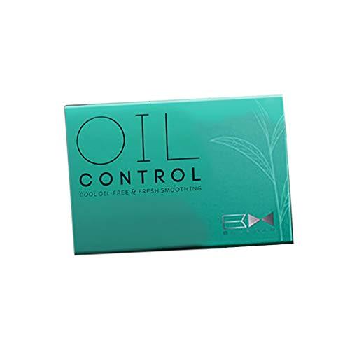Nargut 100 hojas de aceite para el cuidado de la piel con control de aceite, sin estimulación.
