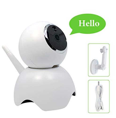[New 2019] Wifi beveiligingsstartcamera, beste smart app, draadloos IP-bewakingssysteem voor binnen, nachtzicht, babymonitor afstandsbediening