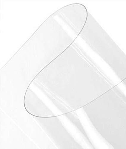 Plastex Fabrics 8 Gauge Vinyl Fabric by The Yard, Clear