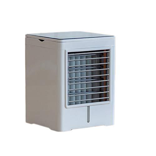 Mini Ventilador de enfriamiento Aire Acondicionado Ventilador Ventilador de refrigeración refrigeración por Agua Aire Acondicionado pequeño hogar frigorífico pequeño Dormitorio portátil refrigera