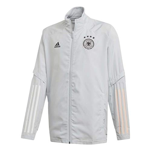 adidas Kinder DFB Presentation Jacket Präsentationsjacke, Clgrey, 164