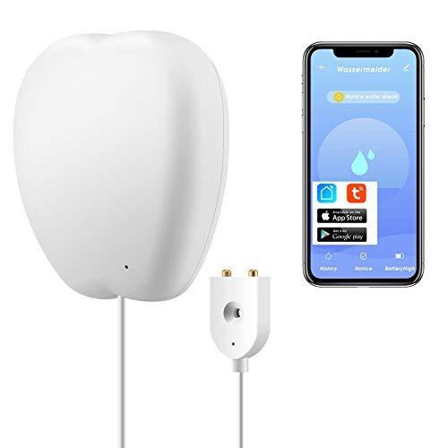Sensor de inmersión WiFi pérdida de agua Sensor de agua pérdida de agua Detector de intrusión alarma nivel de agua alarma Tuya Smart Life App mando a distancia