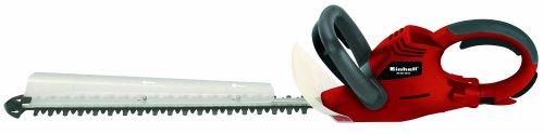 Einhell Elektro Heckenschere RG-EH 6053 (600 Watt, 530 mm Schnittlänge, 20 mm Zahnabstand, inkl. Schnittgutsammler, Köcher, drehbarer Handgriff)