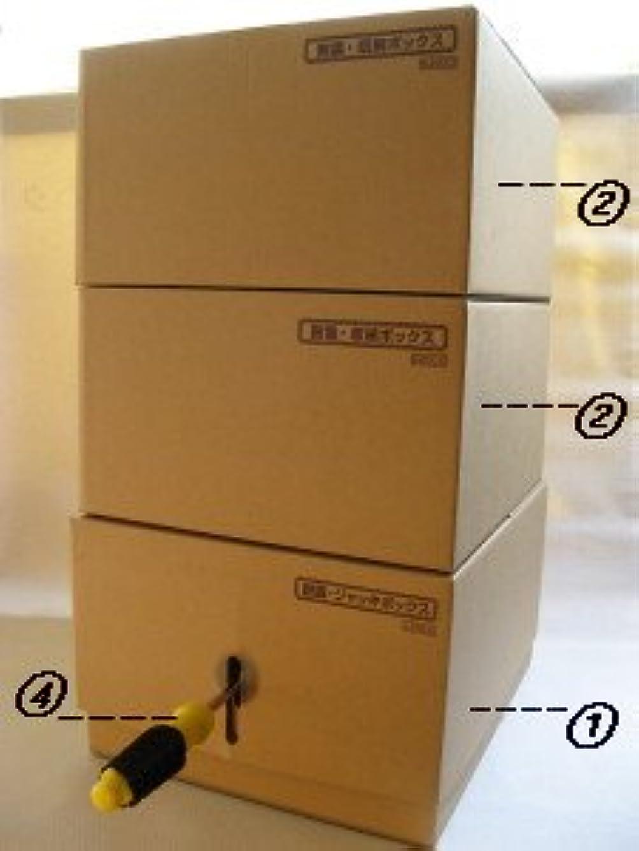 害虫並外れて農村「D?20+20通常セット」(????色):家具転倒防止BOX「耐震君」