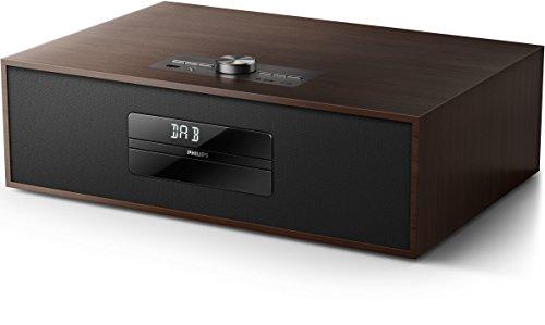 Philips BTB4800/12 Sistema Musicale Micro, Radio, DAB+, Digital Radio,Bluetooth, Nero