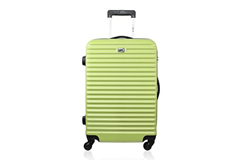 Blue Star Large Brazilia Suitcase, 70 cm, 91 L, Green (Green) - BD-12047