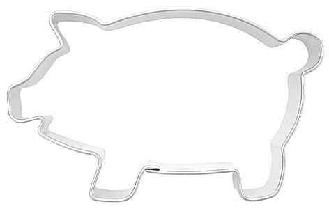 Ausstechform Schwein, 6,5cm