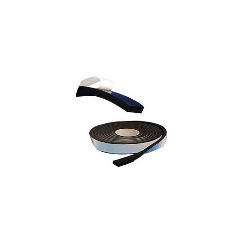 Tre Emme 96039 Guarnizione Adesiva, Nero, 10 x 25 mm