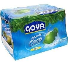 Goya agua de coco Hidratante natural 520ml Pack 12 unidades