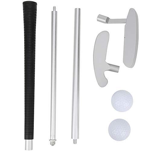 Golf Putter Kit, Aluminiumlegierung Linke und rechte Hand 3 Abschnitte Baugruppe für Erwachsene Kinder austauschbar
