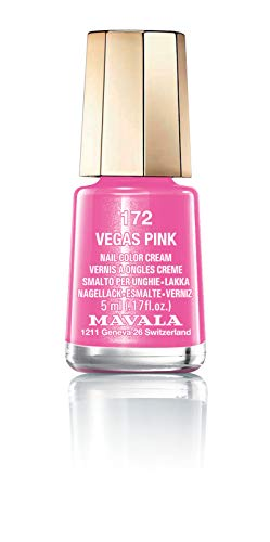 Mavala - Esmalte de uñas vegas pink 72 color