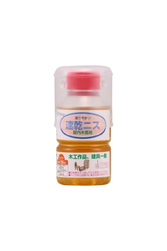 和信ペイント 速乾ニス 乾きの早いラッカー系ニス 120ml