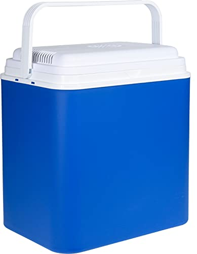 ABRUS® 24L Large 12V Electric Cool Box - Perfect for Picnic Beach Camping - Fully Insulated -...