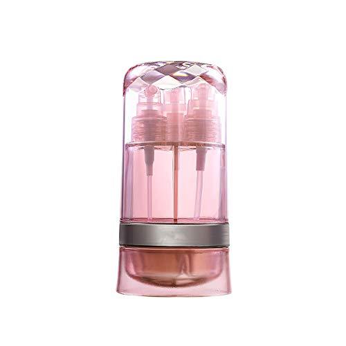 Verdelife - Botellas de viaje reutilizables, de plástico vacías, para maquillaje cosmético