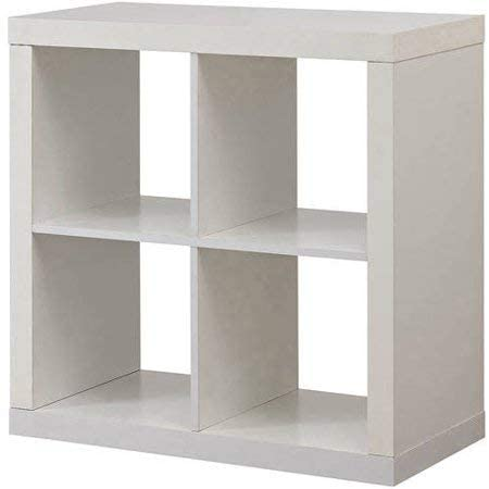 Better Homes and Gardens Bookshelf 4-Cube Charlotte Mall Square Storage Cabinet Popularity