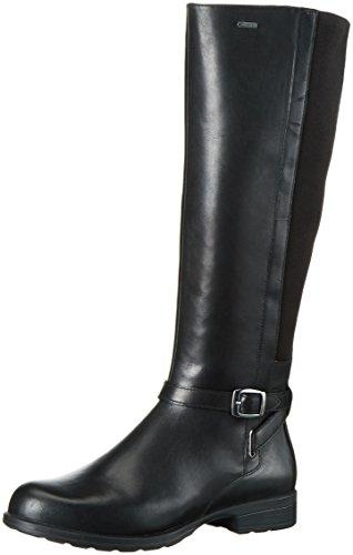 [クラークス] ブーツ CheshuntHi GTX/チェスハントハイGTX 26119480 Black Leather (ブラックレザー/3.5)